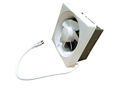 Professional Grade Products 9800395 Shutter Exhaust Fan for Garage Shed Pole Barn...