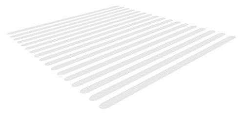 Soleo 17 Anti-Rutsch-Streifen für Treppen, transparent und selbstklebend für dauerhafte Anwendung, Anti Rutsch Streifen Treppe, Rutschmatte, Rutschsticker, Antirutschsticker, Antirutschmatte | mit 2 Jahren Zufriedenheitsgarantie