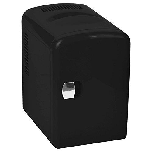 Ardes AR5I04 Mini Réfrigérateur Électrique Portable 4 Litres Fonction Chaude/Froid et Maison/Voiture, Noir Poly Pool