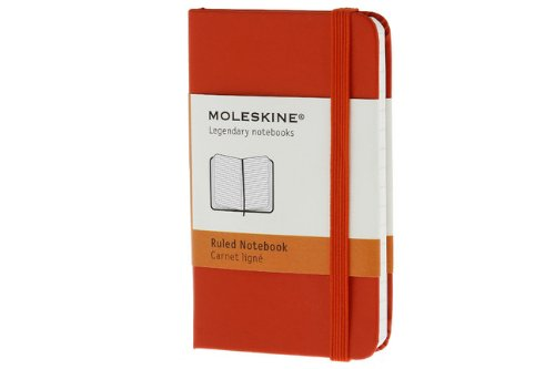 Moleskine Classic Notebook, Extra Small, Plain, Red, Hard Cover (2.5 x 4) (Classic Notebooks)