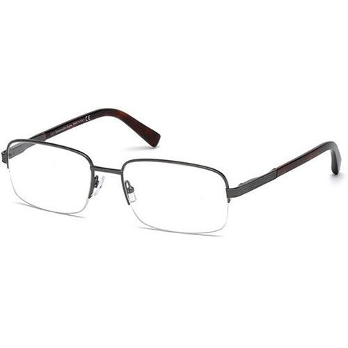 Ermenegildo Zegna - EZ5011, Geometric, general, men, DARK RUTHENIUM(008), 58/19/145 by Zegna