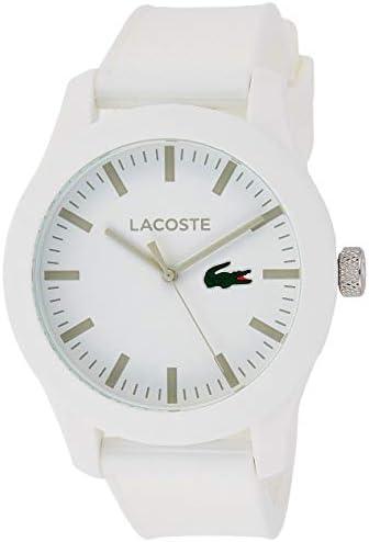 Lacoste Lacoste.12.12 men's watch, white, 2010762
