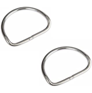 Gurtstopper Halcyon Stainless steel D-rings