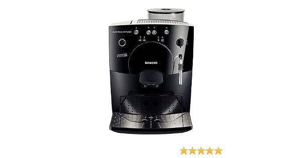 Siemens TK53009 - Cafetera (Independiente, Máquina espresso, 1,8 L, Molinillo integrado, 1400 W, Negro): Amazon.es: Hogar