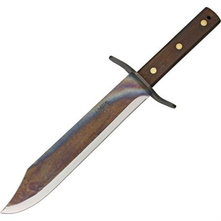 Svord Von Tempsky Forest Fixed Knife, high carbon tool steel blade, Brown wood handle