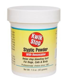Kwik Stop Styptic Powder with Benzocaine 42 GM