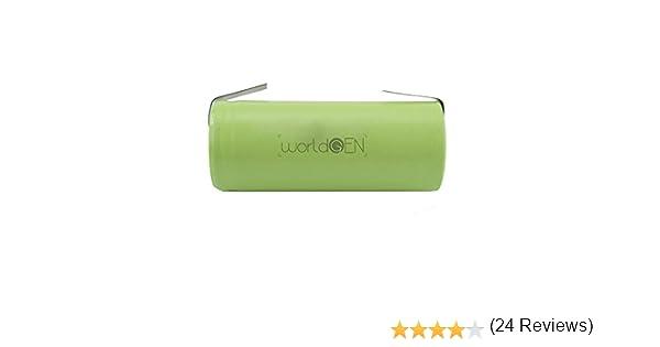 Batería de repuesto WorldGen® 1400mAh 1.2V 42x14mm cepillo de dientes eléctrico Oral B Tipo 3756 Pro 500 600 650 700 750 800 900 1000 2000 3000 4000 ...