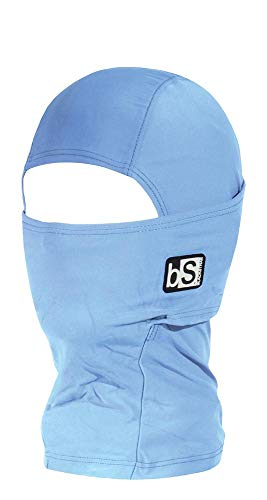 - BlackStrap Kids The Hood Dual Layer Cold Weather Neck Gaiter and Warmer for Children, Pastel Blue
