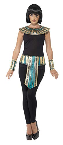 Smiffys Egyptian Costume Accessory Kit Gold -