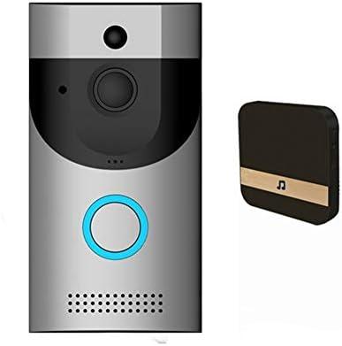 [해외]Wireless Video Doorbell WiFi 720P HDNight-Vision Motion Detection 2-Way Talkback Smart Doorbell Security Camera App Remote Control for iOS 안드로이드 / Wireless Video Doorbell WiFi 720P HDNight-Vision Motion Detection 2-Way Talkbac...