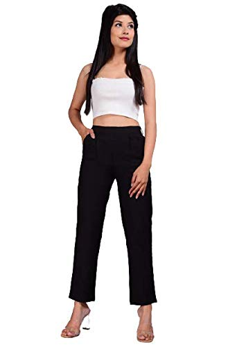 DIGITAL SHOPEE Women/Girls Regular Fit Casual Trouser