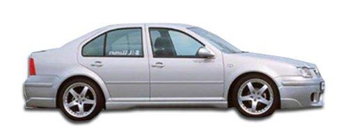 1999-2004 Volkswagen Jetta 1999-2006 Volkswagen Golf Duraflex OTG Side Skirts Rocker Panels - 2 Piece (Duraflex Side Skirts)