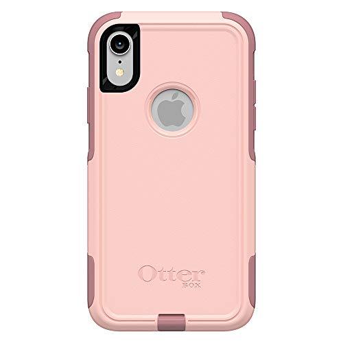 OtterBox COMMUTER SERIES Case for iPhone Xr – Retail Packaging – BALLET WAY (PINK SALT/BLUSH)