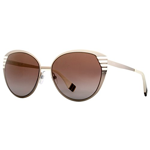 FENDI Sunglasses 0017/S 07Sg Gold Ivory Brown - Fendi Shoes Eye