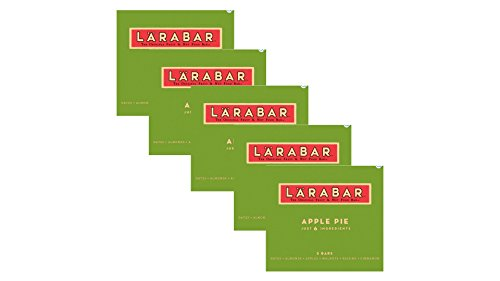 Apple Pie Gluten Free Fruit & Nut Bars Set of 5 Boxes