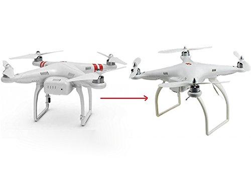 1 par de Soportes Aterrizajes Para Juguete RC Helicóptero: Amazon ...