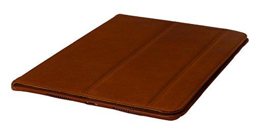 OPIS MOBILE 6 GARDE BACK: elegante carcasa (back cover) para iPhone 6/6s revestida de cuero auténtico de alta calidad (Rojo) iPad: Marrón