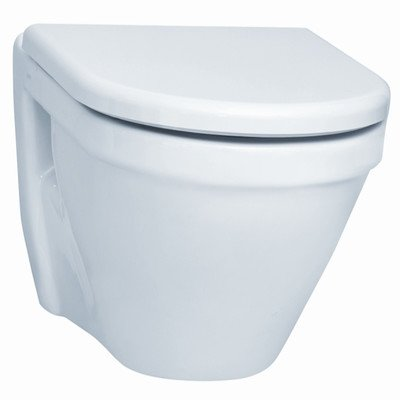 Nameeks Vitra 5318-003-0075-638845331029 S50 Collection Commercial Wall Mounted Toilet, White