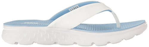 Go Les Skechers Sandales Sur 400 Noirs White D'essence Light Blue 7SwxOawq