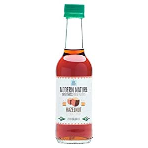 Modern Nature Hazelnut Coffee Syrup, Sugar Free 250ml