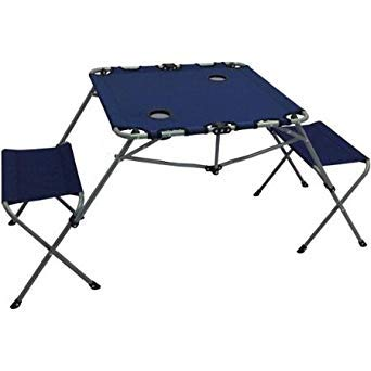 Ozark Trail 2 In 1 Table Set Includes Two Seats And Two