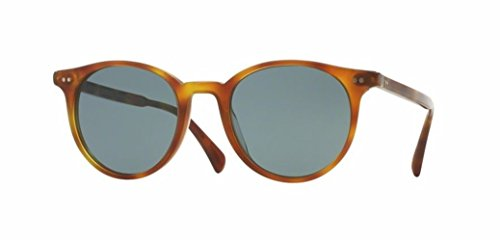 Oliver Peoples Delray Sun -Semi Matte LBR /Indigo Photo- 5314 1483R8 - Changing Color Frames Eyeglass