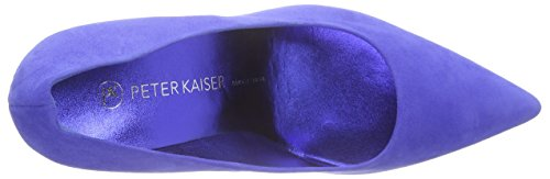 à Pieds Peter Avant Dalara du Couvert Kaiser Lamina Talons 896 Riviera Chaussures Suede Bleu Femme Blau q0F0xtr1