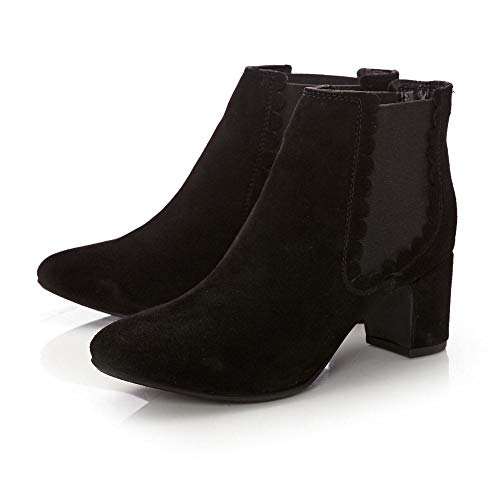 Lotis Suede Pelle In Moda Black FxwqSEOzH