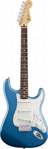 Fender Standard Stratocaster Electric Guitar - Rosewood Fingerboard, Lake Placid Blue