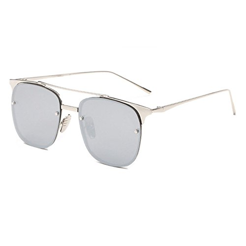 Aoligei Lunettes de soleil femme marée style star lunettes rondes Dame de lunettes de soleil de couleur rond visage yeux rétro coréen m2VBBhpvPO