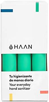 HAAN HIGIENIZANTE DE MANOS EN SPRAY | Hecho en España (PACK3 (Dew ...