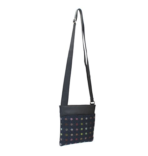 Cross Black Mala Bag Tweed 752 Spot Abertweed 40 Leather Navy Body Collection amp; qXxX6w1r