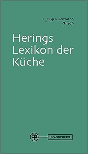 herings lexikon der küche: mit cd: amazon.de: f. jürgen herrmann ... - Herings Lexikon Der Küche