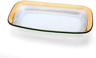 product image for Annie Glass Roman Antique 11 X 7 Rectangular Asparagus Bow