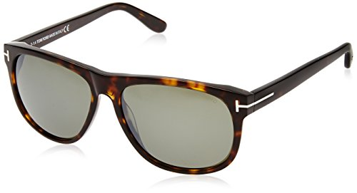 Tom Ford Sunglasses - Olivier / Frame: Dark Havana Lens: Grey (236 Tom)