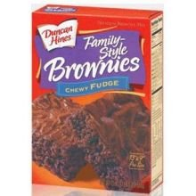 Pinnacle Foods Duncan Hines Family Style Chewy Fudge Brownie Mix, 84 Ounce - 5 per case.