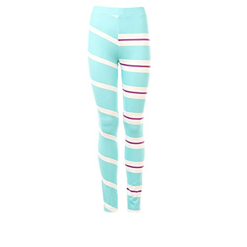 SevenJuly1 Vanellope von Schweetz Costume Sports Leggings MidWaist Elastic Pants Female XS -