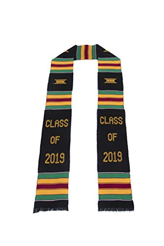 Class of 2019 Kente Cloth Graduation Stole ()