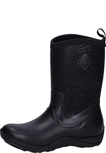 Muck Boot Women's Arctic Weekend Black Neoprene Boots 6