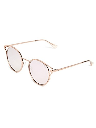 GUESS Factory Women's Round Metal - Guess Pink Sunglasses