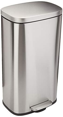 AmazonBasics Rectangle Stainless Steel