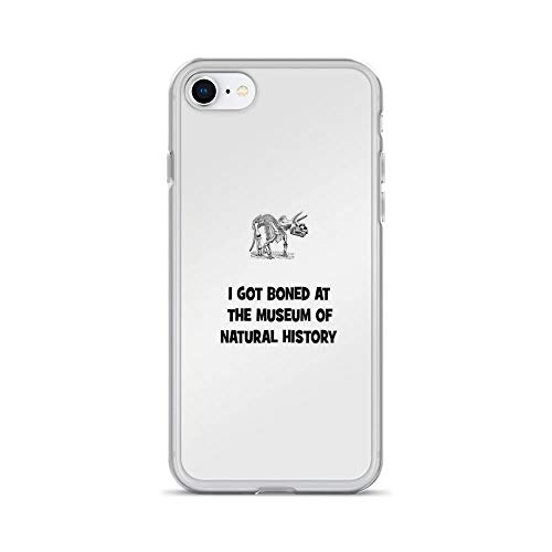 iPhone 7 Case iPhone 8 Case Cases Clear Anti-Scratch I Got Boned at The Museum of Natural History Cover Case for iPhone 7/iPhone 8, Crystal Clear ()