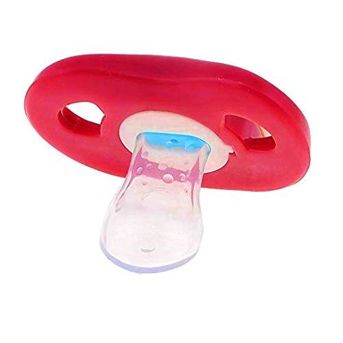 mit Zähnen und Mund Kreativer Faschings Schnuller für Baby und Erwachsene
