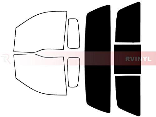 Rtint Window Tint Kit for Ford F-150 2004-2008 (2 Door) - Rear Windshield Kit - 5%