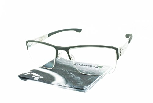 Brand New Authentic ic! berlin eyeglasses Max S. Rectangular Metal ...