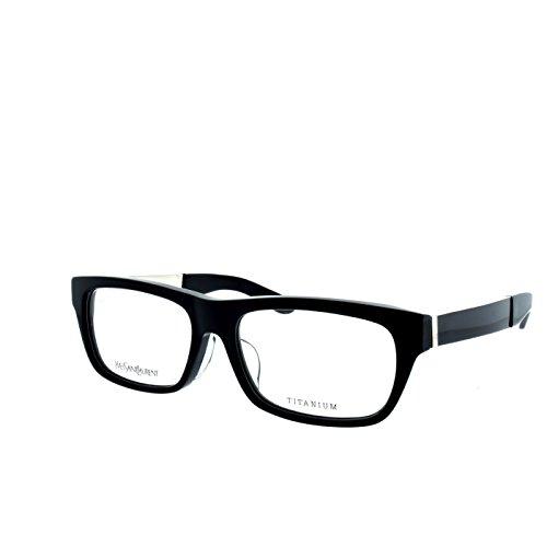 YSL Saint Laurent YSL 4022J RHP Black/light gold rectangle eyeglasses