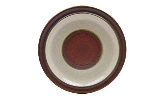 - Denby Langley Potter's Wheel Rust Red Dinner Plate 10
