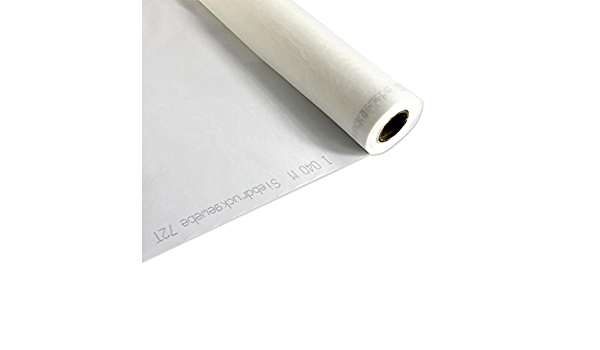 "3 Yards 110 Mesh x 63/"" Width Plain White Silk Screen Silkscreen Printing Fabric"