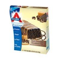 Atkins Advanced Dark Chocolate Decadence Bars by Atkins