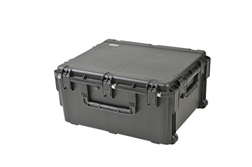 SKB 3I-3026-15BC 30 x 26 x 15 Inches Audio Utility Case with Wheels and Cubed Foam by SKB
